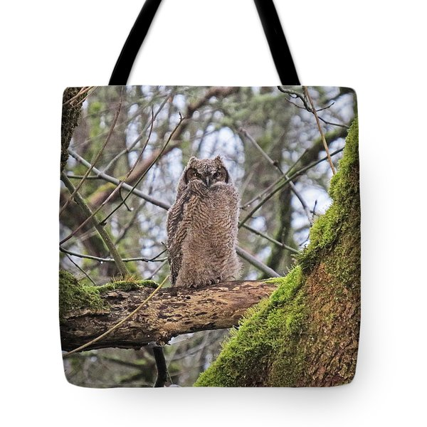 Tote Bag featuring the photograph Fledged And Independent by I'ina Van Lawick