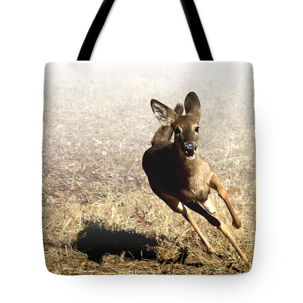 Flee Tote Bag by Bill Stephens