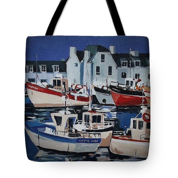 Fleet Tote Bag by Andrew Drozdowicz