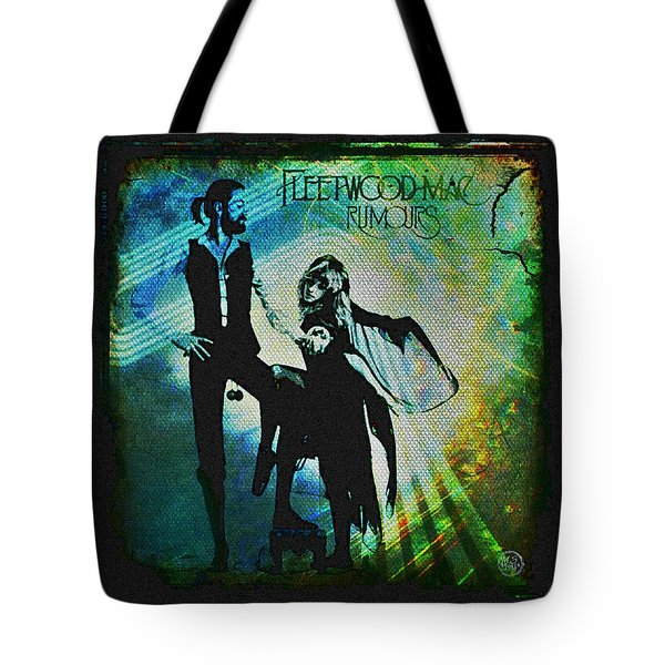 Fleetwood Mac - Cover Art Design Tote Bag