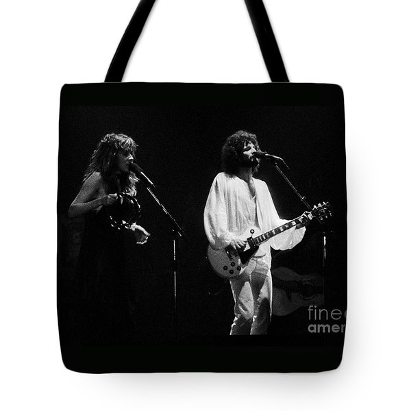 Fleetwood Mac In Amsterdam 1977 Tote Bag