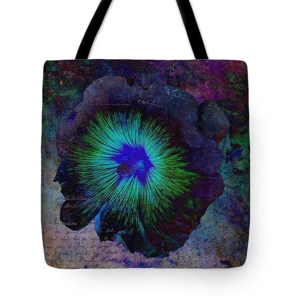 Fleur De Bleu De Cru Tote Bag