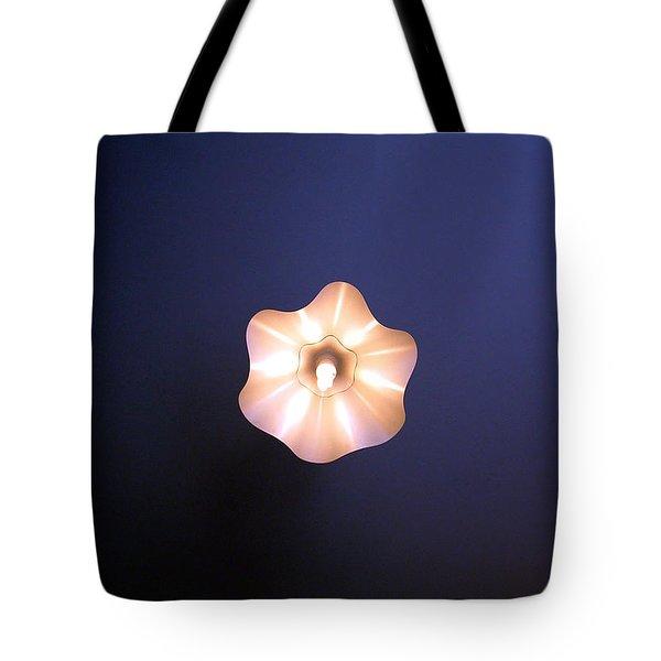 Fleur De La Fee Electricite Tote Bag by Marc Philippe Joly