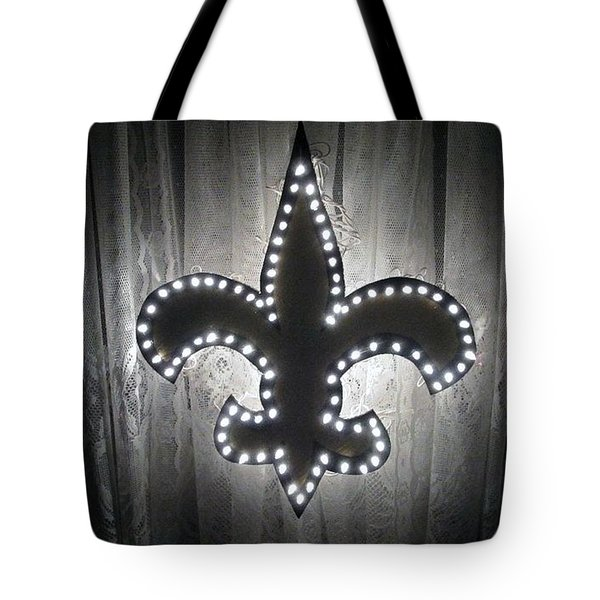 Fleur De Light Tote Bag by Deborah Lacoste