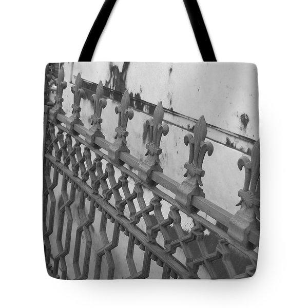 Tote Bag featuring the photograph Fleur De Lis by Beth Vincent