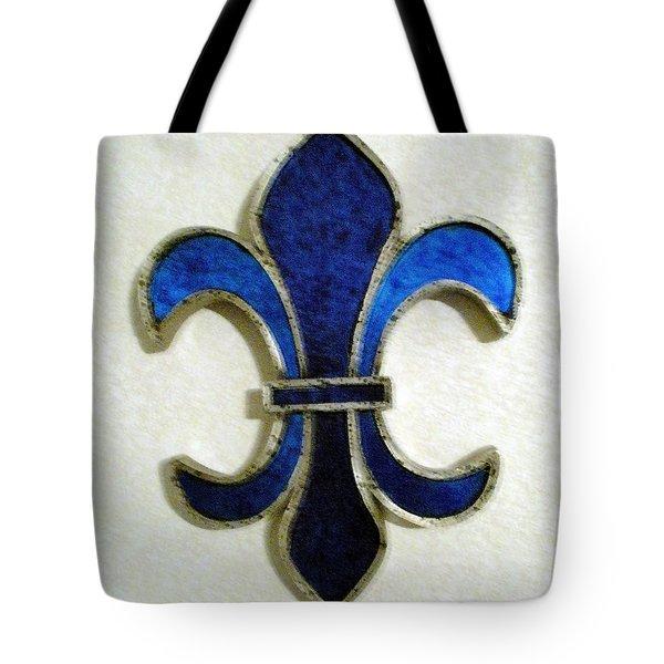 Tote Bag featuring the photograph Fleur De Lis by Joseph Baril