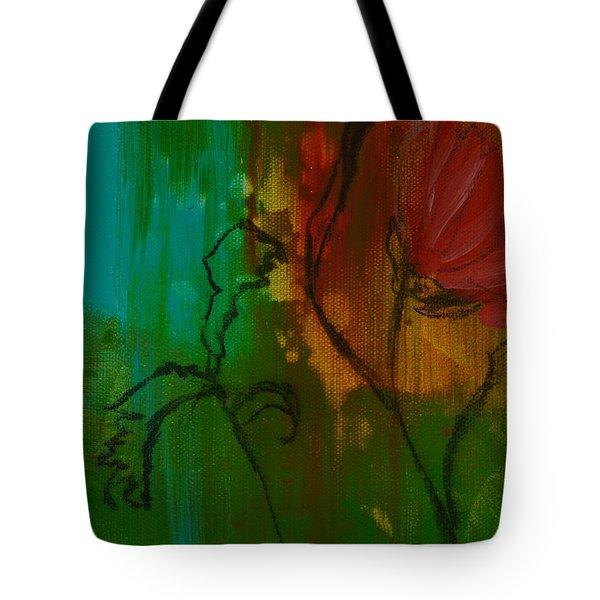 Fleur Tote Bag by Robin Maria Pedrero