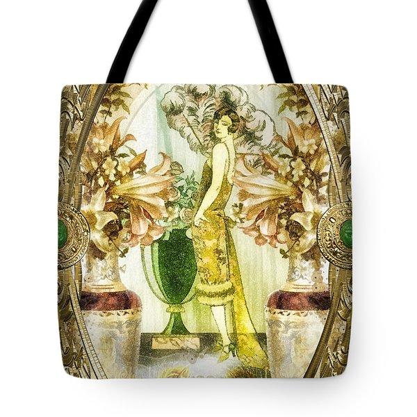 Fleurdelys Tote Bag by Mo T
