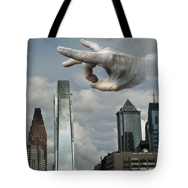 Flicking Philly Tote Bag by Rick Mosher