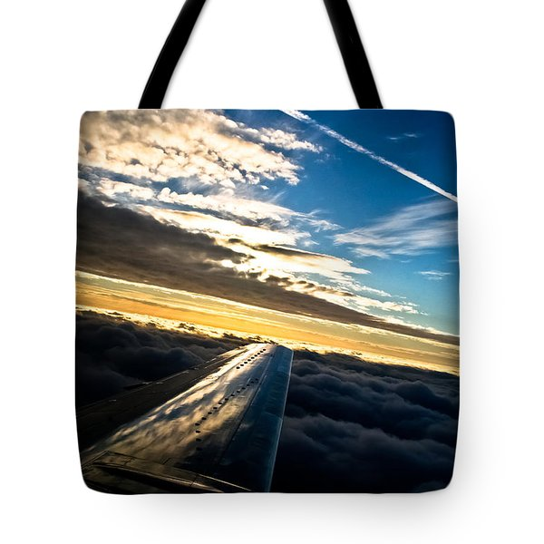 Flight 777 Tote Bag
