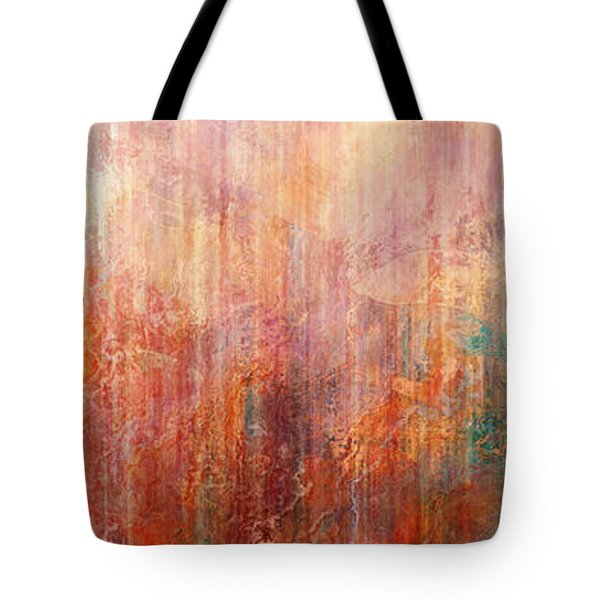 Flight Home - Abstract Art Tote Bag by Jaison Cianelli