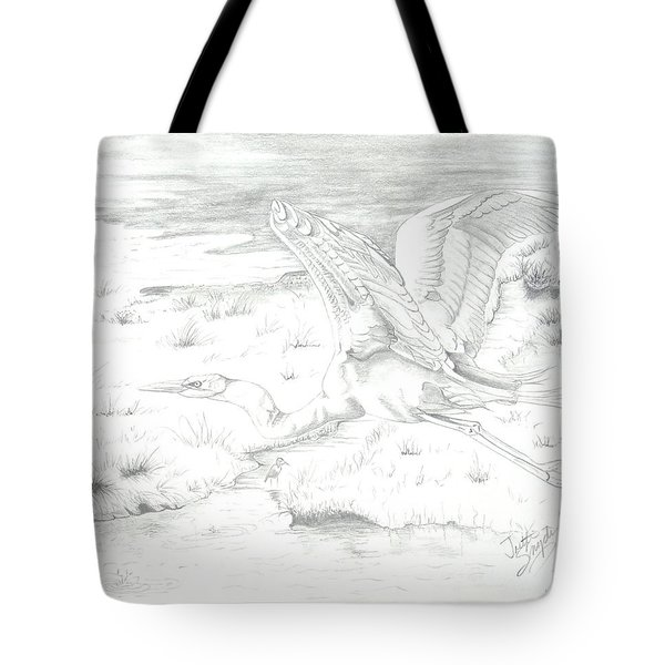 Flight Of Grace Tote Bag