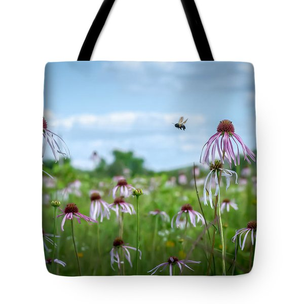 Flight Of The Bumblebee Tote Bag