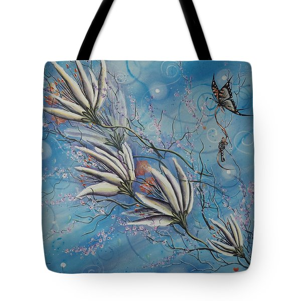 Flight Of The First Key Tote Bag