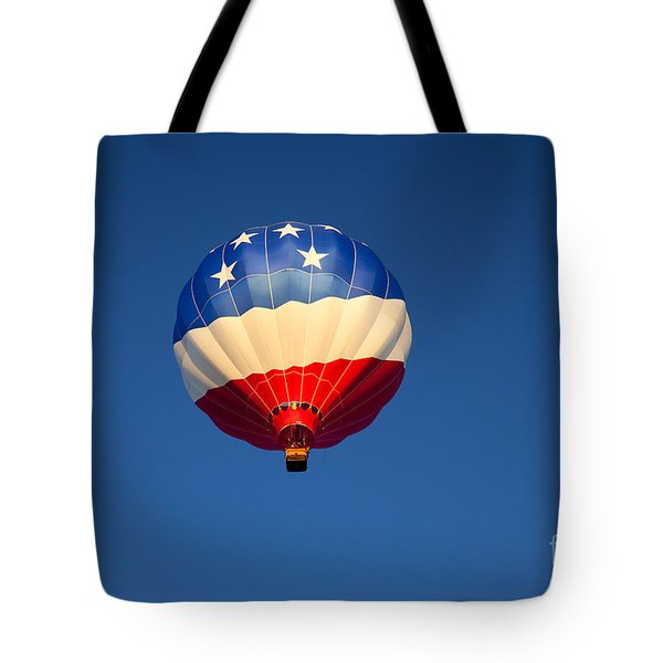 Flight Of The Patriot Tote Bag by Mike  Dawson