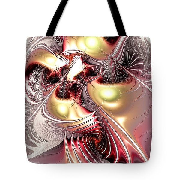 Flight Of The Phoenix Tote Bag by Anastasiya Malakhova