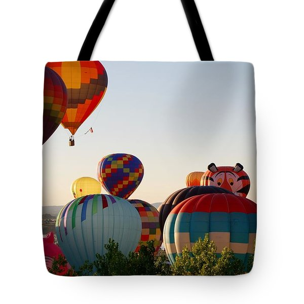 Flight Of The Tiger Tote Bag