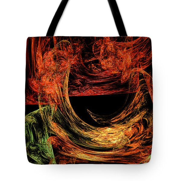 Flight To Oz Tote Bag by Andee Design