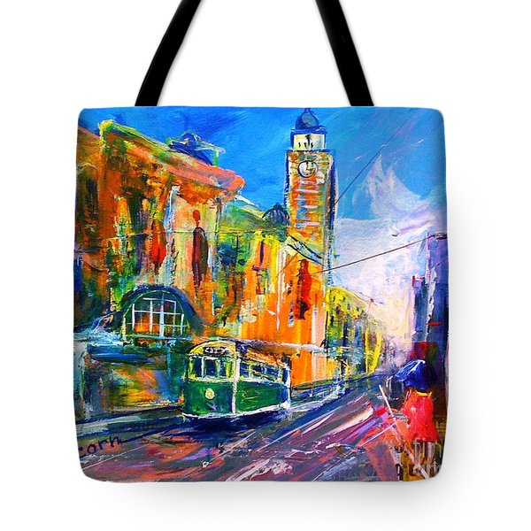 Flinders Street - Original Sold Tote Bag