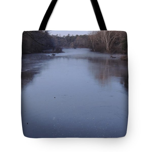 Tote Bag featuring the photograph Flint River 1 by Kim Pate
