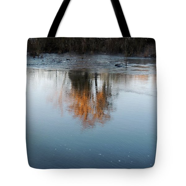 Tote Bag featuring the photograph Flint River 21 by Kim Pate