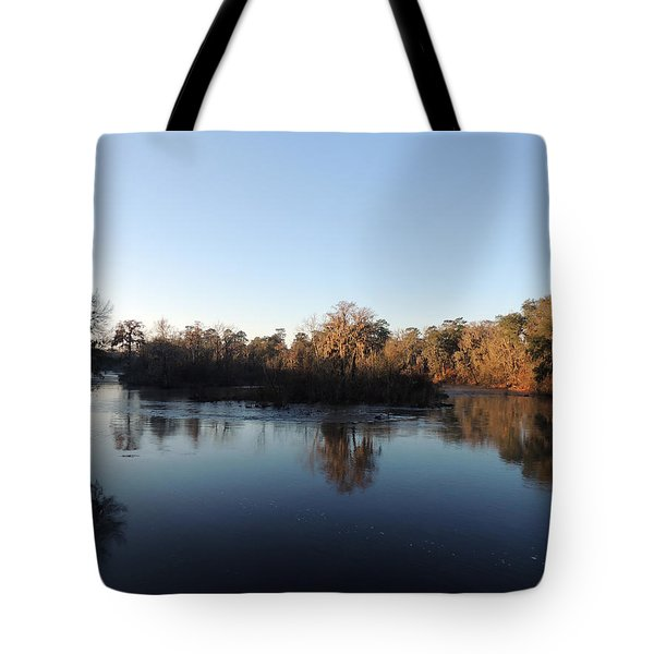Tote Bag featuring the photograph Flint River 26 by Kim Pate
