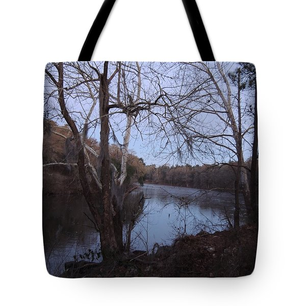 Tote Bag featuring the photograph Flint River 4 by Kim Pate
