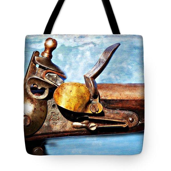 Flintlock Tote Bag by Marty Koch