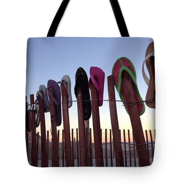 Flip Flop Lost And Found Tote Bag