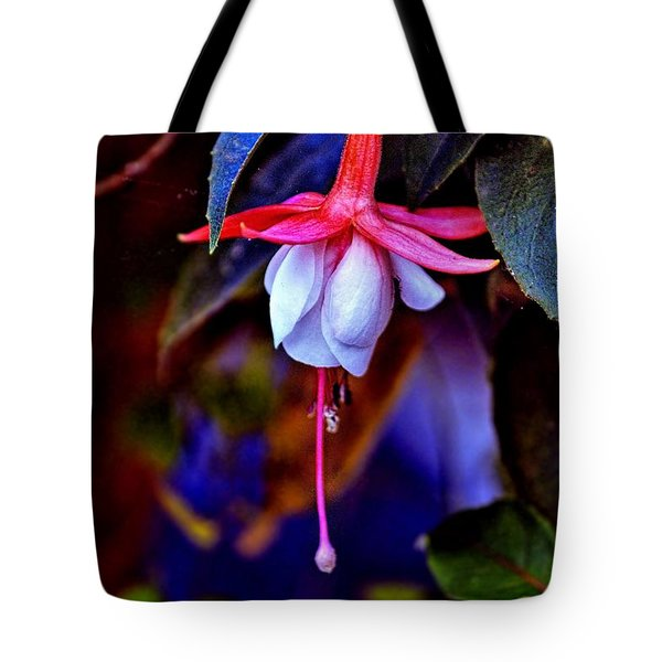 Tote Bag featuring the photograph Flirtatious Fuschia by Wallaroo Images