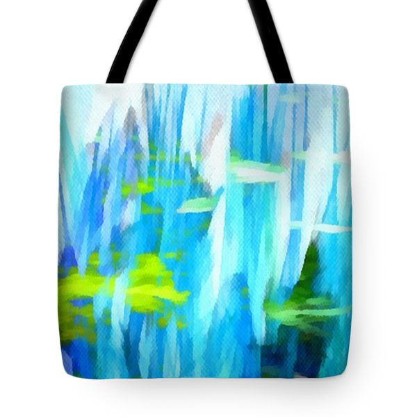 Float 1 Horizontal Tote Bag by Angelina Vick