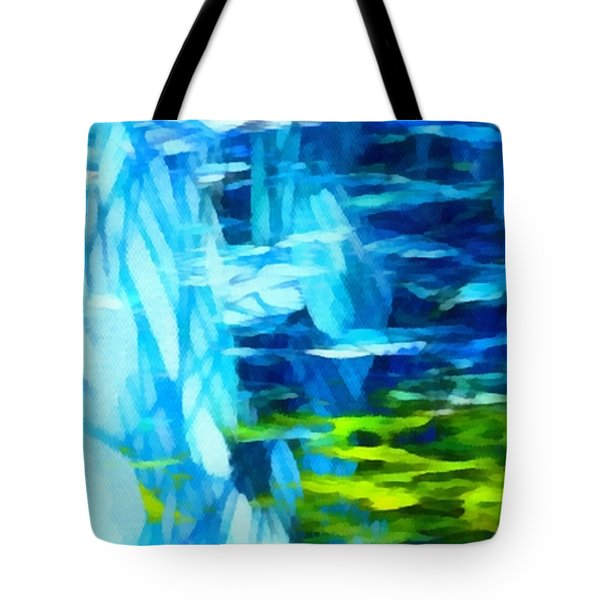 Float 3 Horizontal  Tote Bag by Angelina Vick