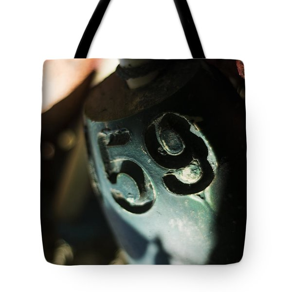 Tote Bag featuring the photograph Float Number 59 by Rebecca Sherman