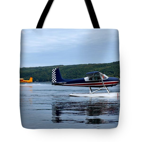 Float Planes On Keuka Tote Bag