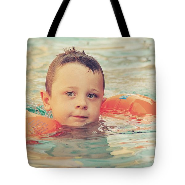 Floaties Tote Bag by Laurie Search