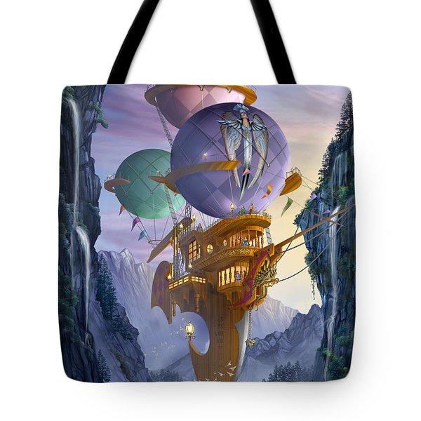 Floatilla Tote Bag by Ciro Marchetti