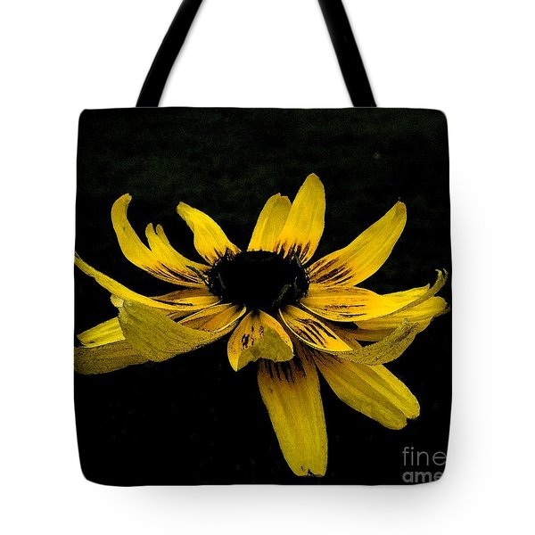 Black Eyed Susan Suspense Tote Bag
