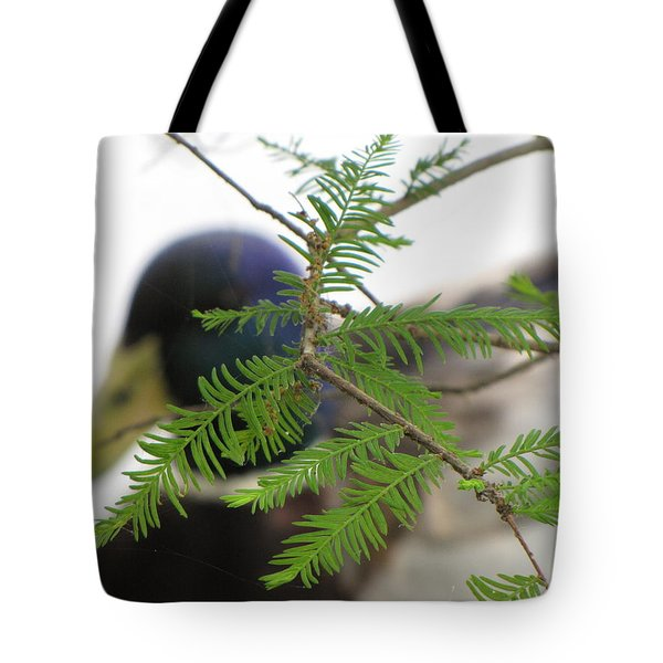 Tote Bag featuring the photograph Floating By by Beth Vincent