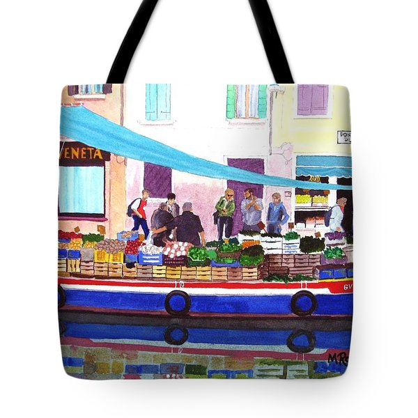 Floating Grocery Store Tote Bag by Mike Robles