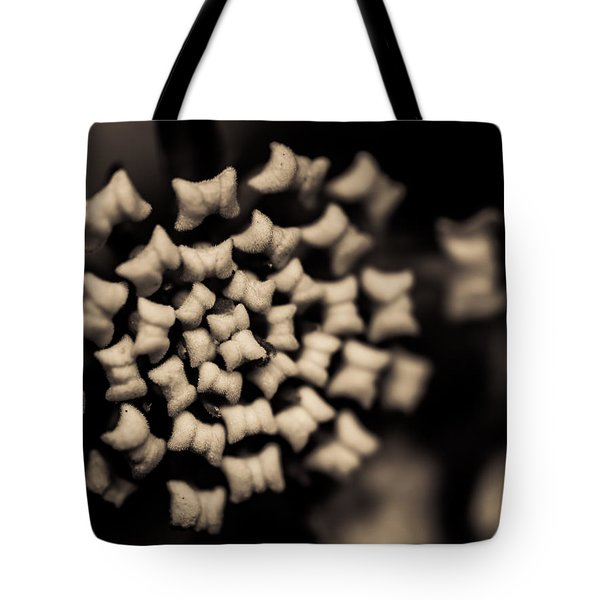 Floating Into The Dark II Tote Bag by Marco Oliveira