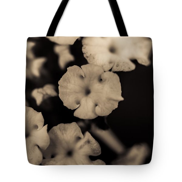 Floating Into The Dark Tote Bag by Marco Oliveira