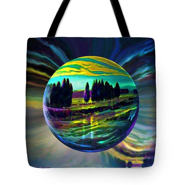 Floating Lavender Fields  Tote Bag