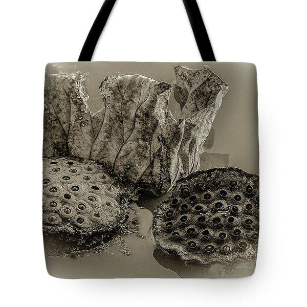 Floating Lotus Seed Pods 2 Tote Bag