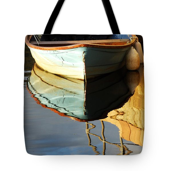 Floating On Blue 4 Tote Bag