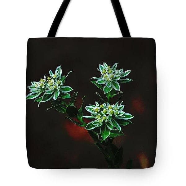 Floating Petals Tote Bag