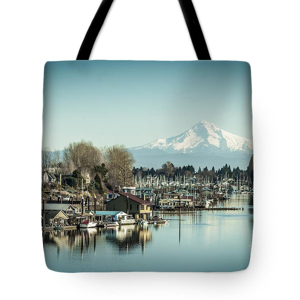 Floating World Tote Bag by Patricia Babbitt