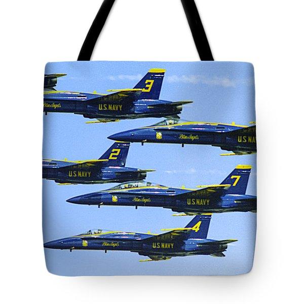 Flock Of Angels Tote Bag
