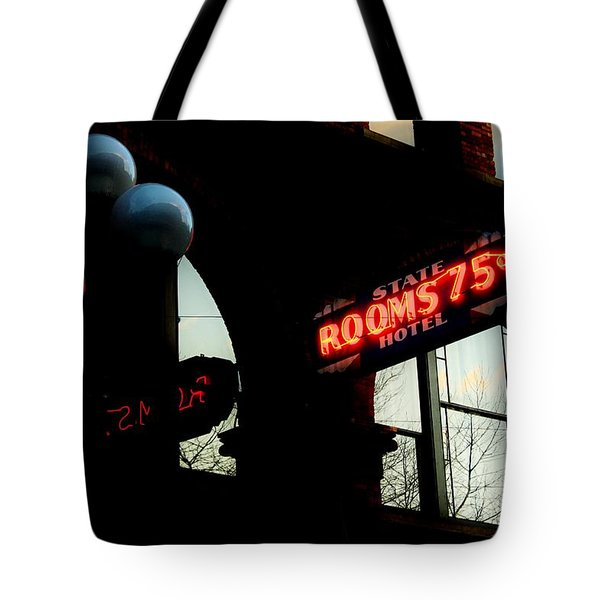 Flophouse Tote Bag by Benjamin Yeager