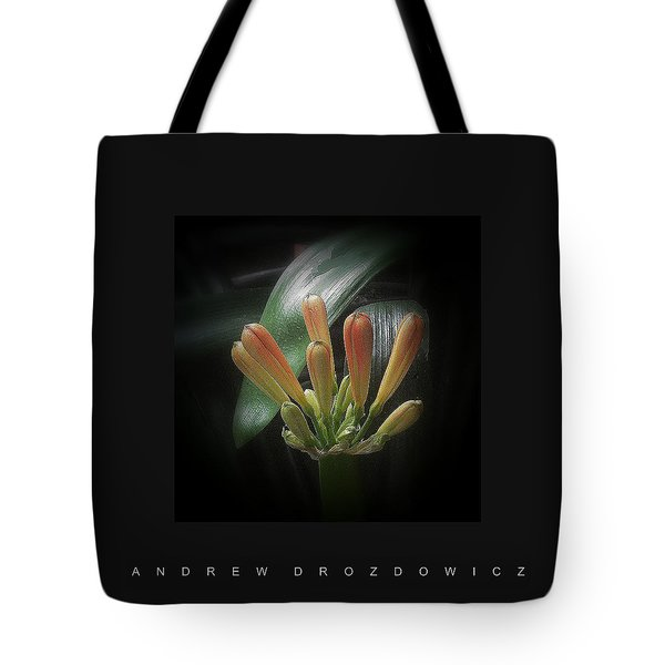 Tote Bag featuring the photograph Flora 1 by Andrew Drozdowicz