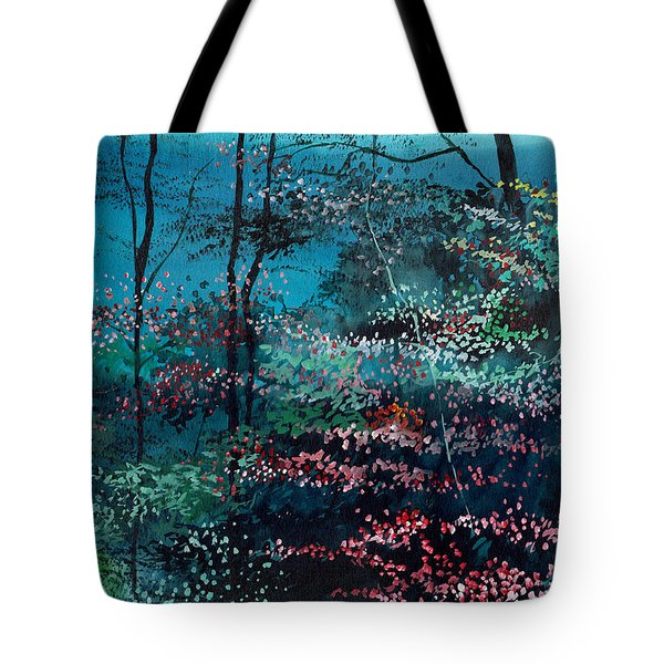 Flora 1 Tote Bag by Anil Nene